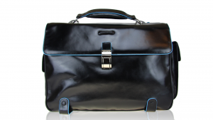 Sac business Piquadro Blue square CA1066B2 NERO