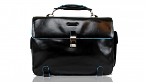Briefcase  Piquadro Blue square CA1068B2 Nero