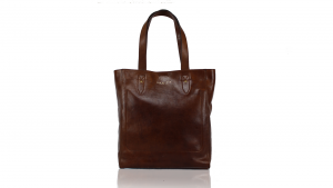 Shopping bag  The Bridge Sfoderata luxe 04427301 14 Cuoio