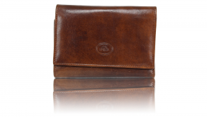 Woman wallet The Bridge  01773101 14 cuoio