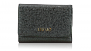 Woman wallet Liu Jo ANNA A66127 E0087 GUN METAL