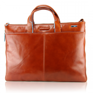 Sac business Piquadro Blue square CA1618B2 Arancio