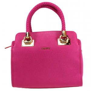 Hand and shoulder bag Liu Jo Anna A16084 E0087 DARK PINK