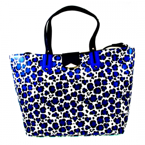 Shopping bag Liu Jo Kos A16035 E0087 MACULA BLU