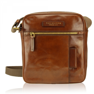 Shoulder bag The Bridge  05361601 14 Cuoio