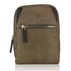 Shoulder bag Piquadro  CA3084W73 TORTORA