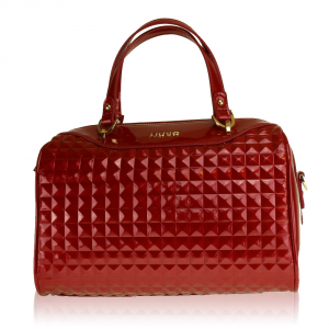 Hand bag Liu Jo CICLAMINO PATENT A17132 E0004 RED PASSION