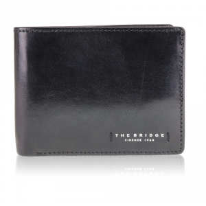 Man wallet The Bridge  01440601 20 Nero