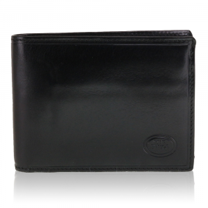 Man wallet The Bridge  01433201 20 Nero