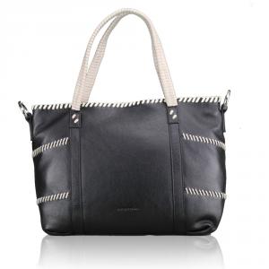 Hand and shoulder bag Cromia SOLE 1403276 NERO