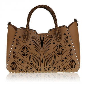 Hand and shoulder bag Cromia CLEOPATRA 1403239 CAMMELLO
