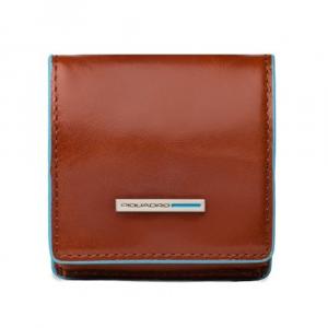 Porta spiccioli Piquadro Blue square PU2634B2 Arancio