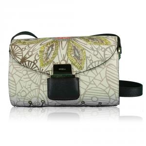 Shoulder bag Furla AMAZZONE PRIMAVERA 869459 TONI ACERO+CIOCCOLATO b