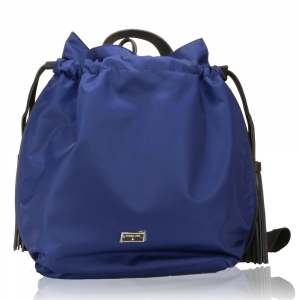 Backpack Patrizia Pepe  2V6595 A1ZL X1ZS Blue nyl./Black