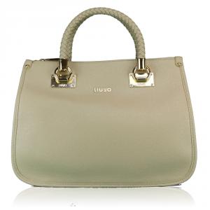 Hand and shoulder bag Liu Jo ANNA N67085 E0087 BISCUIT