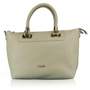 Hand and shoulder bag Liu Jo ANNA N67094 E0087 BISCUIT