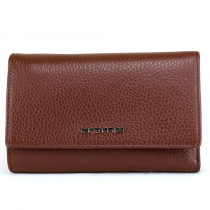 Woman wallet Cromia GO FAR 2620625 CUOIO