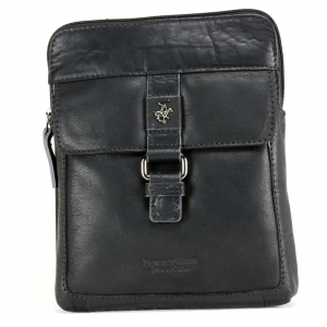 Shoulder bag Beverly Hills Polo Club BERLINO BH-1120 NERO