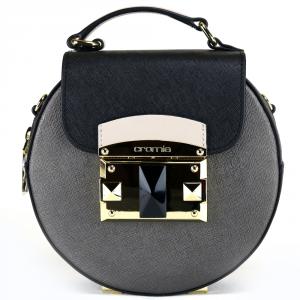 Hand and shoulder bag Cromia IT SAFFIANO 1403459 PELTRO