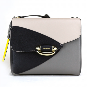 Shoulder bag Cromia LUXURY 1403445 POLVERE+BEIGE+NERO