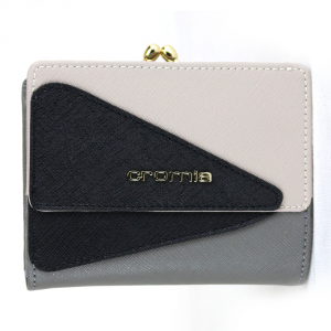 Woman wallet Cromia LUXURY 2690594 POLVERE+BEIGE+NERO