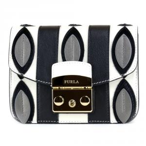 Shoulder bag Furla METROPOLIS 908158 ONYX+PETALO