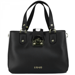 Sac à main Liu Jo IRVINE N18268 E0037 NERO+GLASS