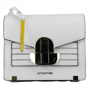 Shoulder bag Cromia MAEVA 1403703 BIANCO+NERO