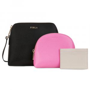 Shoulder bag Furla BOHEME 943606 ONYX+ORCHIDEA d+VANIGLIA d