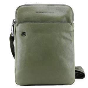 Shoulder bag Piquadro BLACK SQUARE CA3978B3 VERDE