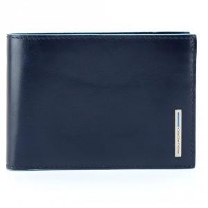 Man Wallet Piquadro BLUE SQUARE PU1239B2 BLU