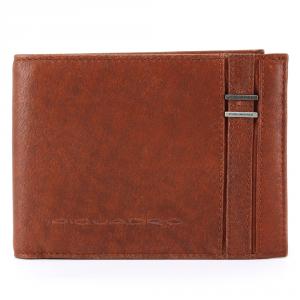 Man Wallet Piquadro  PU1239S34 ARANCIO
