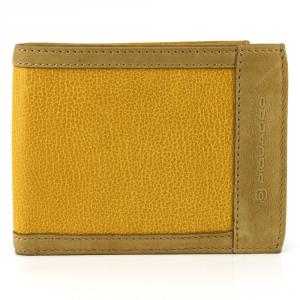 Man Wallet Piquadro  PU1239S61 GIALLO