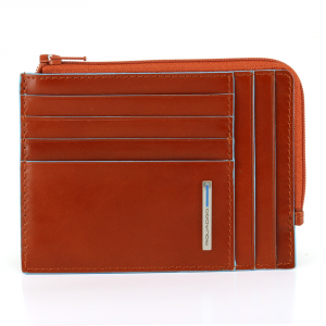 Documents holder Piquadro BLUE SQUARE PU1243B2 ARANCIO