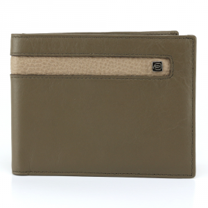 Man Wallet Piquadro  PU1241SO3 TORTORA