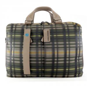 Business bag Piquadro  CA3347P16 CHECKK