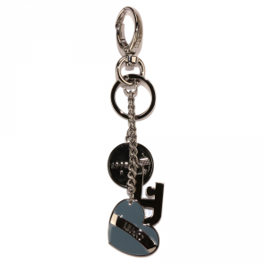 Key ring Liu Jo HEART CHARMS N66154 A0001 BLU STONE