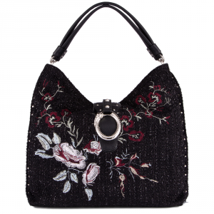 Shoulder bag Liu Jo DARSENA A68035 T6795 MIXED AND FLOWERS