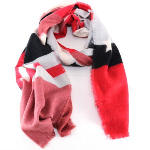 Scarf Liu Jo COLOR BLOCK A68287 T0300 FEEL ROUGE