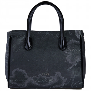 Hand and shoulder bag Alviero Martini 1A Classe GEO NIGHT GL63 9500 001 NERO
