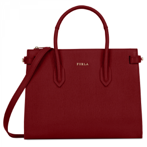 Hand and shoulder bag Furla PIN 977681 CILIEGIA d