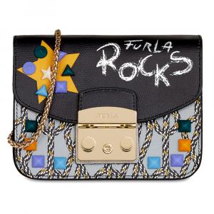 Shoulder bag Furla METROPOLIS ARCOBALENO 977988 TONI ONYX+ONICE