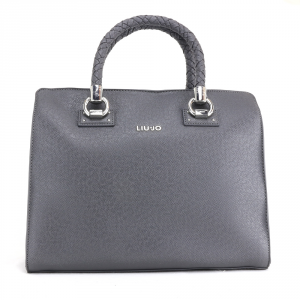Hand and shoulder bag Liu Jo MANHATTAN N68099 E0087 GRAPE JUICE METAL