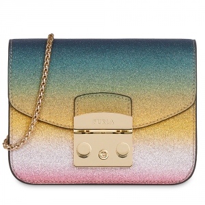 Shoulder bag Furla METROPOLIS ARCOBALENO 978019 MULTICOLOR