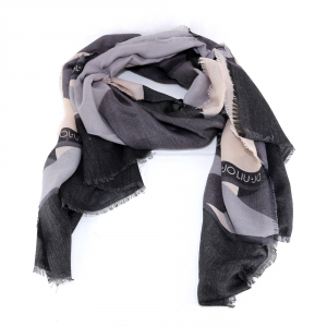 Scarf Liu Jo COLOR BLOCK N68311 T0300 NERO