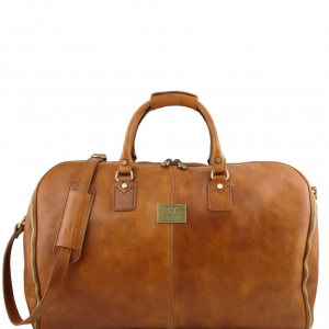 Tuscany Leather TL141538 Antigua - Sac de voyage/Housse de transport vêtements en cuir Naturel