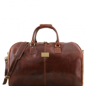 Tuscany Leather TL141538 Antigua - Sac de voyage/Housse de transport vêtements en cuir Marron