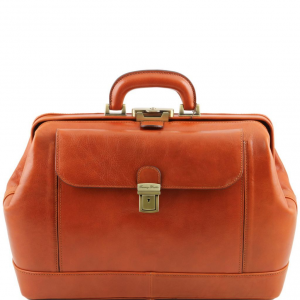 Tuscany Leather TL141299 Leonardo - Exclusive leather doctor bag Honey