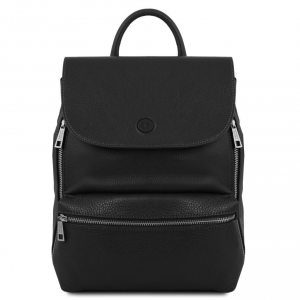Tuscany Leather TL141729 Margherita - Sac à dos en cuir Noir
