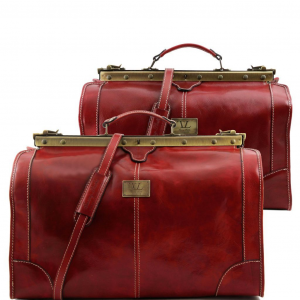 Tuscany Leather TL1070 Madrid - Travel set Gladstone bags Red